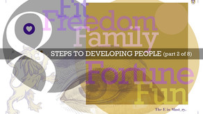 8 Steps to Developing People – 2 of 8