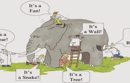 Parable: The Blind Men and The Elephant
