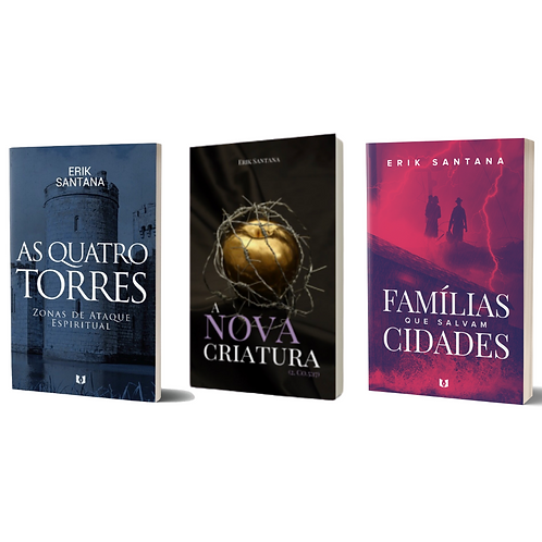BOX Livros FULL - Erik Santana