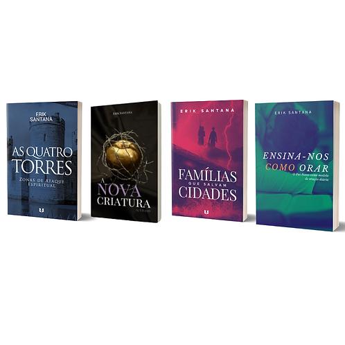 BOX Livros Cristãos - Erik Santana