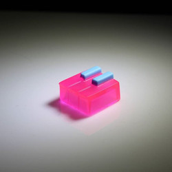 MitchCapped PianoKey v2 in the Miami Colorway! Really love the way these colors turned out!_._._._
