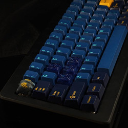 Finally got around to putting keycaps on my m65! Big shout out to _italian_spidrman for the solderin