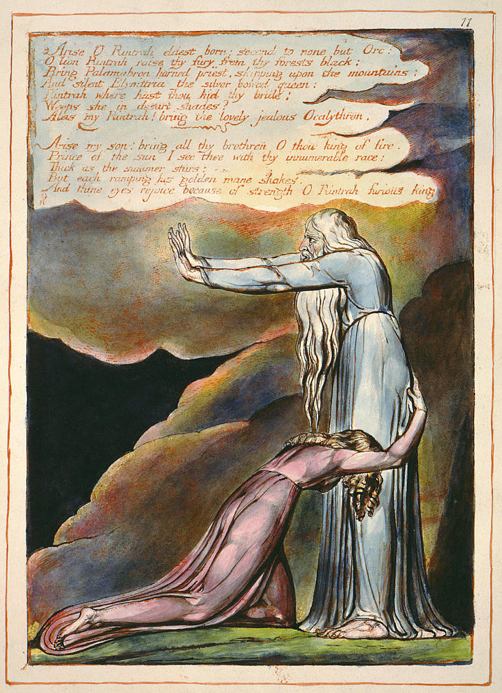 William Blake, 'Europe: a Prophecy', Plate 8