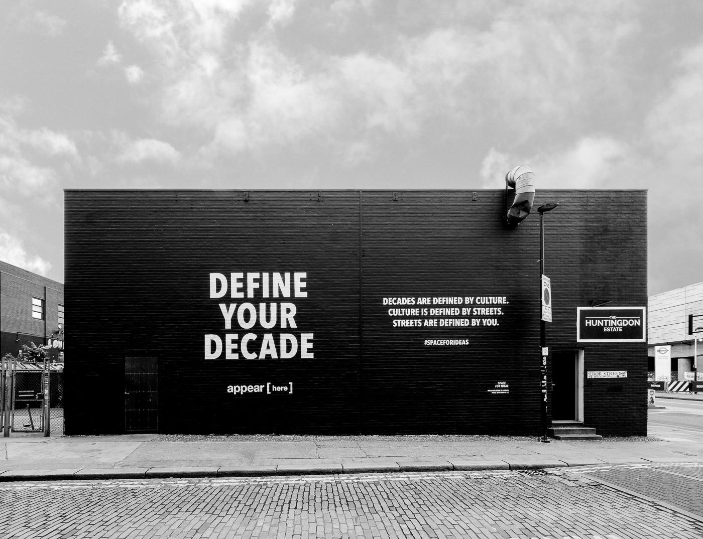 Ebor Street Wall 2020 Define Your Decade