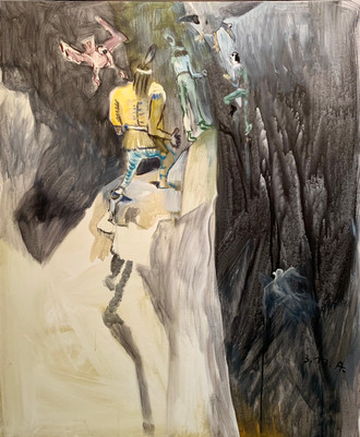 Siegfried_Anzinger_Black_wall_yellow_ind
