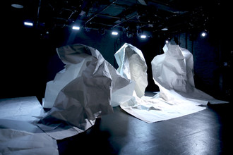paper sculptures from here arts.JPG