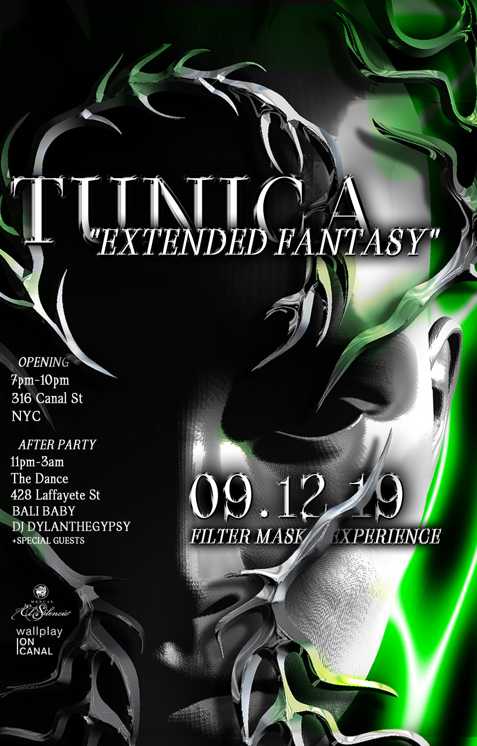 TUNICA _Extended Fantasy_ Filter Mask Ex