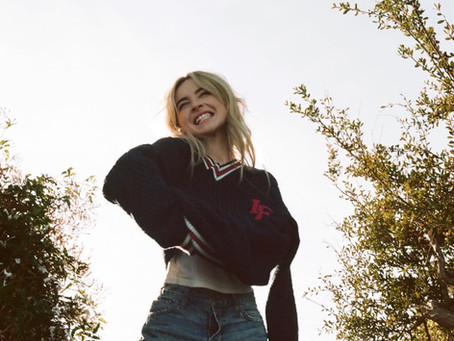 "Sabrina Carpenter Teases New Song ""Skinny Dipping""!!!"