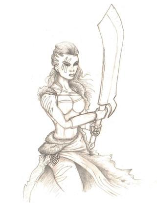 Jayla The Barbarian