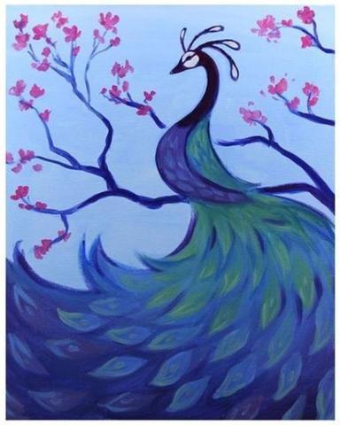 Majestic Peacock
