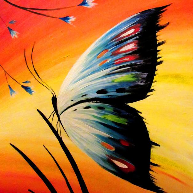Calm Butterfly