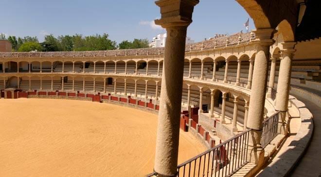 Ronda´s bullfighting Arena