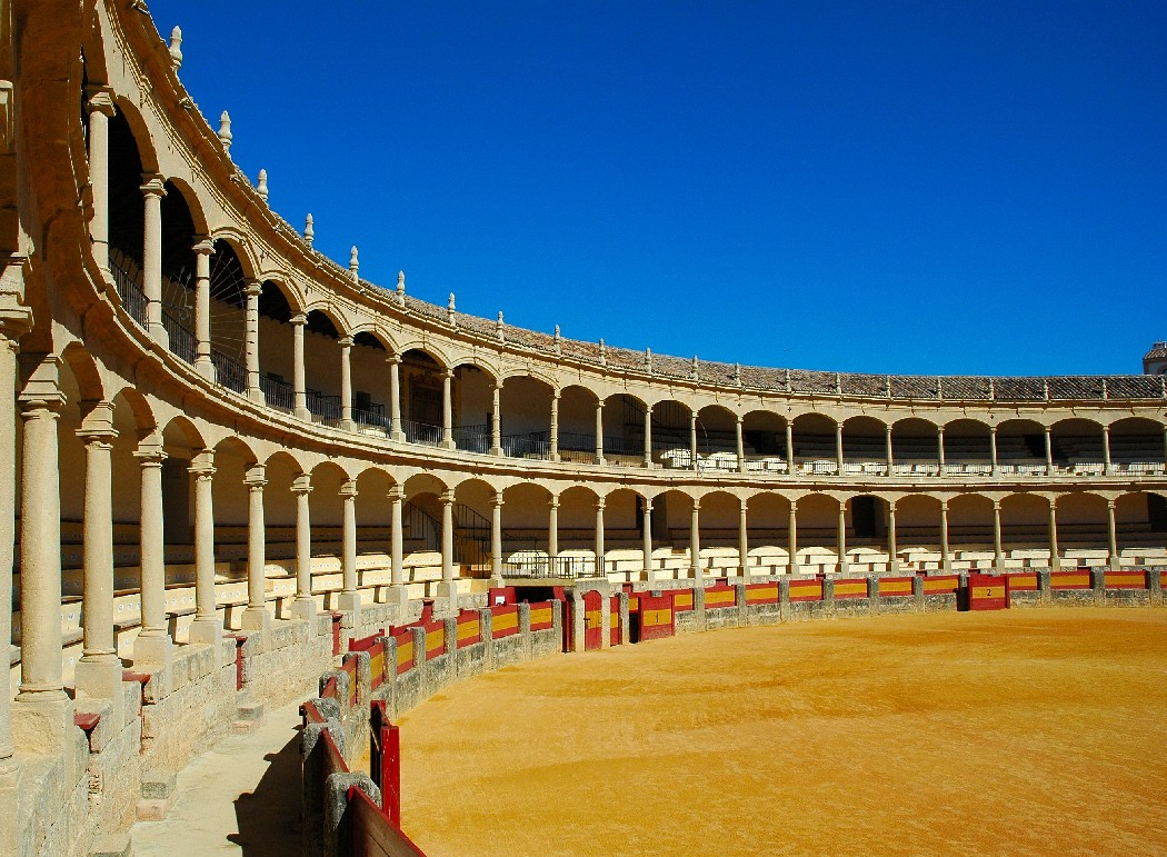 Sevilla's Bullfighting Arena