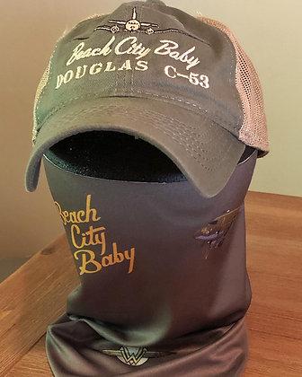 "Beach City Baby ""Face Gaiter Mask"""