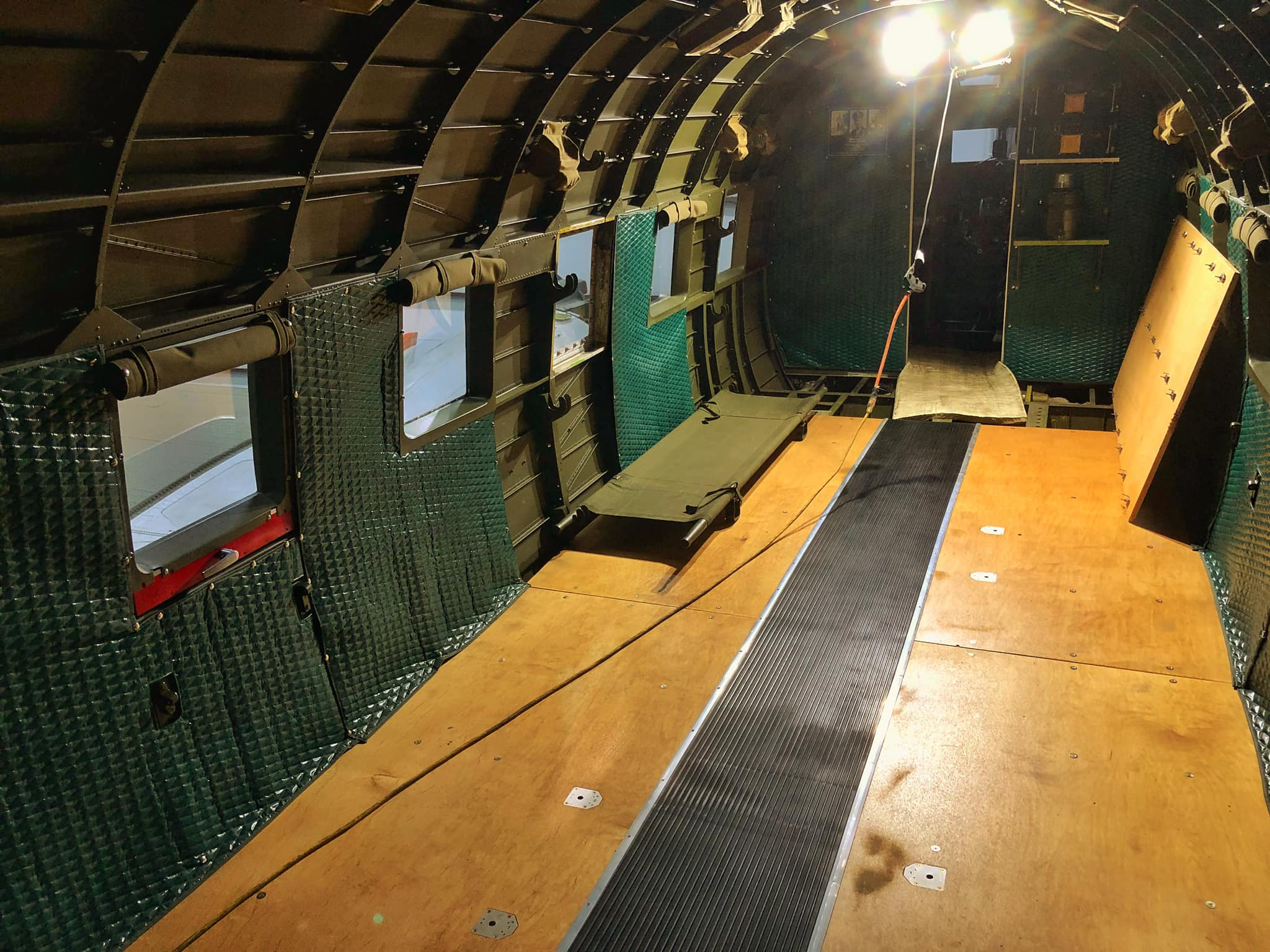 C-53 cabin
