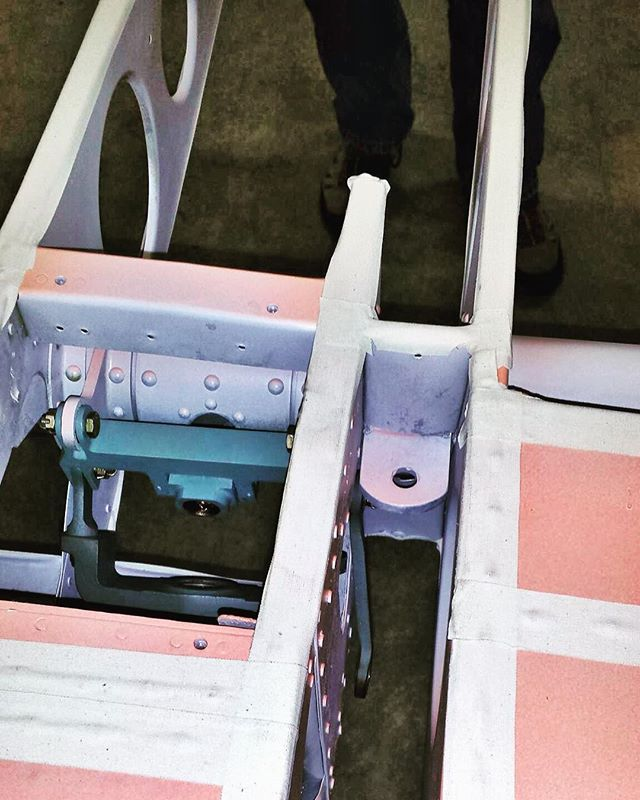 Beach City Baby's flight controls being recovered