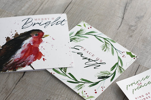 Pack of 30 Christmas Cards