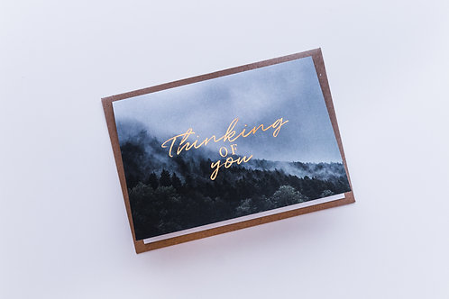 Thinking of you sympathy card |  John 14:27