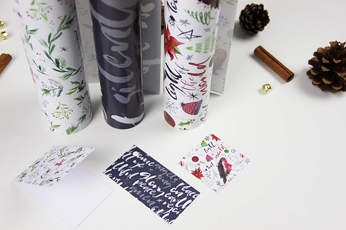 Pack of 6 Christian Wrapping Paper