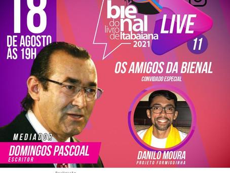Hoje! Live: Os amigos da Bienal, com Danilo Moura criador do grupo FORMIGUINHA