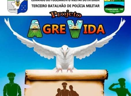 Salve o Agreste, Agrevida, Terceiro Batalhão em Itabaiana/SE - Por Rita Freire