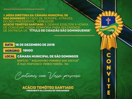 Título de Cidadão São Dominguense