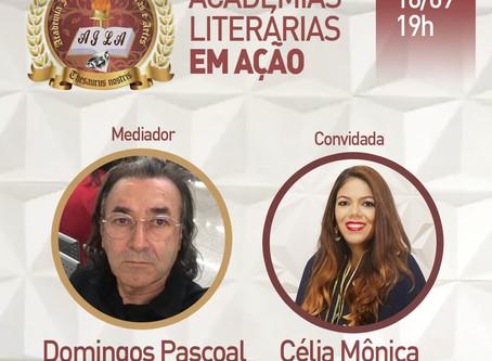 Daqui a pouco! Live: Academias Literárias em Ação!