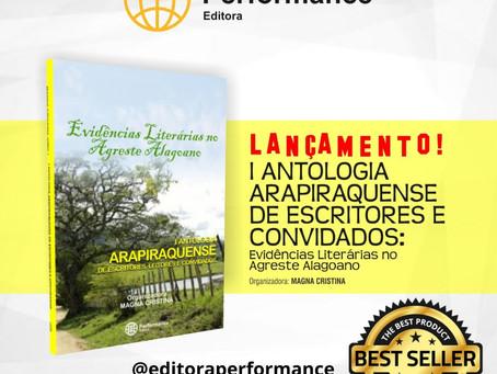 Lançamento da I Antologia Arapiraquense de Escritores e convidados
