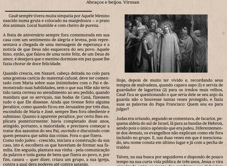 Judas - Traição ou Utopia? Por Antônio Silva - Virman
