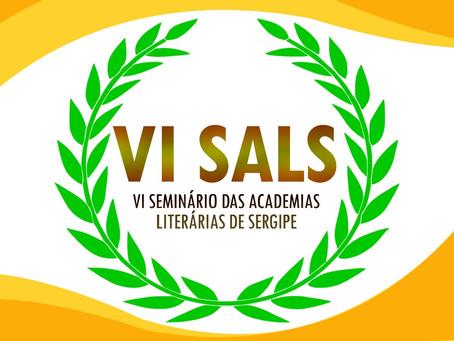 VI Seminário das Academias Literárias de Sergipe - SALS