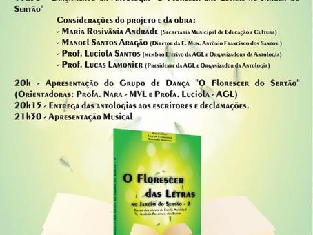 Sarau do Coreto - Escola Municipal Antônio Francisco dos Santos