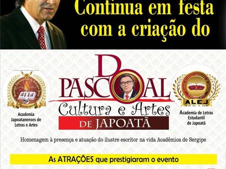 """DPascoal """"Cultura e Artes de Japoatã"""""""