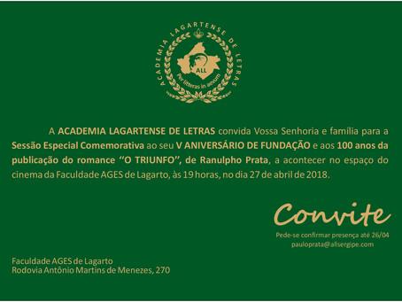 Aniversário da Academia Lagartense de Letras