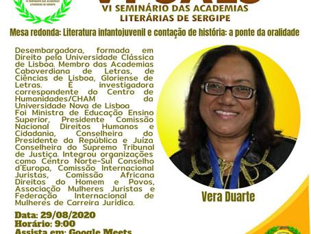VI Seminário das Academias Literárias de Sergipe - Mesa Redonda