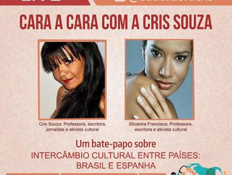 Live: Cara a Cara com a Cris Souza