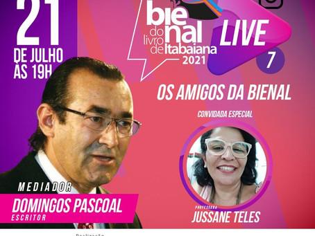 """Hoje! Live """"Os amigos da Bienal"""""""