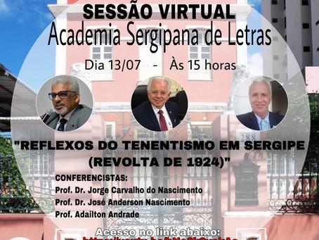 Academia Sergipana de Letras realiza Sessão Virtual