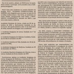 INSTALAÇÃO DA ALCS – ACADEMIA LITEROCULTURAL DE SERGIPE
