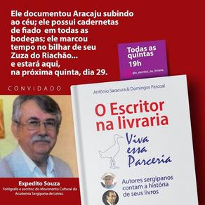 Live: O Escritor na Livraria - Participação de Expedito Souza