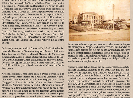 A revolta de de julho de 1924 e os seus reflexos sociais - Por José Anderson Nascimento