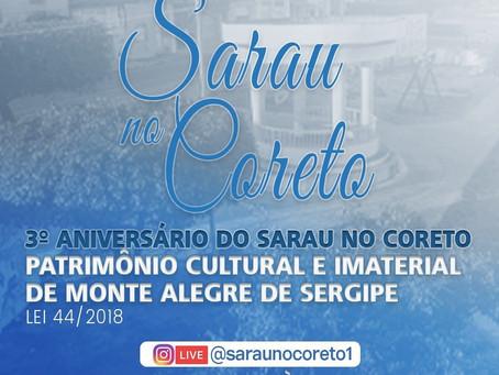 Agora! Live: 3° Aniversário do Sarau no Coreto