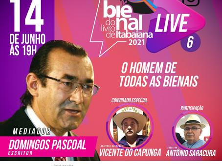 Live: Bienal do Livro de Itabaiana 2021