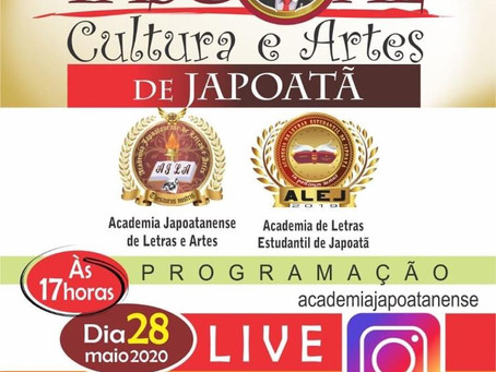 """Live - DPascoal """"Cultura e Artes de Japoatã"""""""