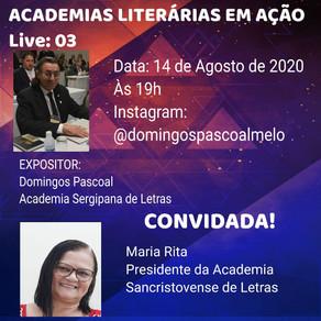 Live 3: Academias Literárias em Ação