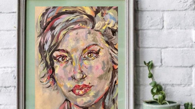 AMY WINEHOUSE | digital art print