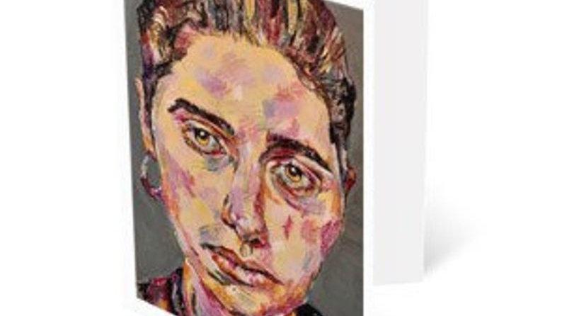 PJ HARVEY | A5 art greeting card