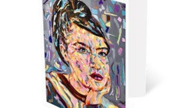 KATHLEEN HANNA | A5 art greeting card