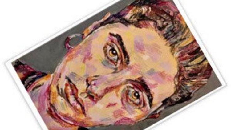 PJ HARVEY | A6 art postcard