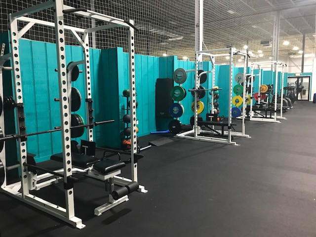 Sports Performance Training Area