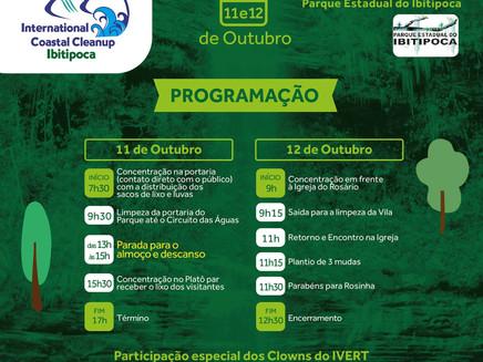 Parque Estadual do Ibitipoca promove Clean up Day, um dia de conscientização e limpeza dos lixos jog